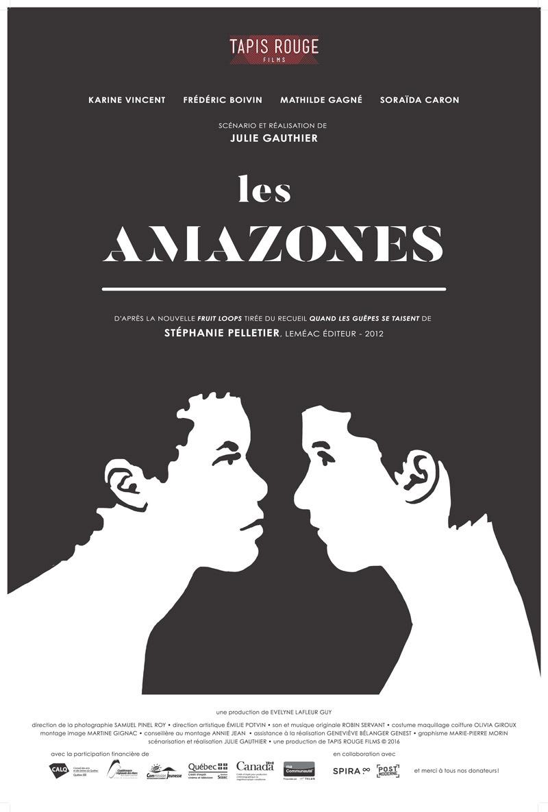 Affiche Les Amazones